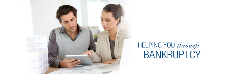 Helping you through bankruptcy